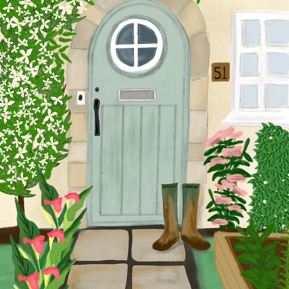 Barratt Homes Taurus Door