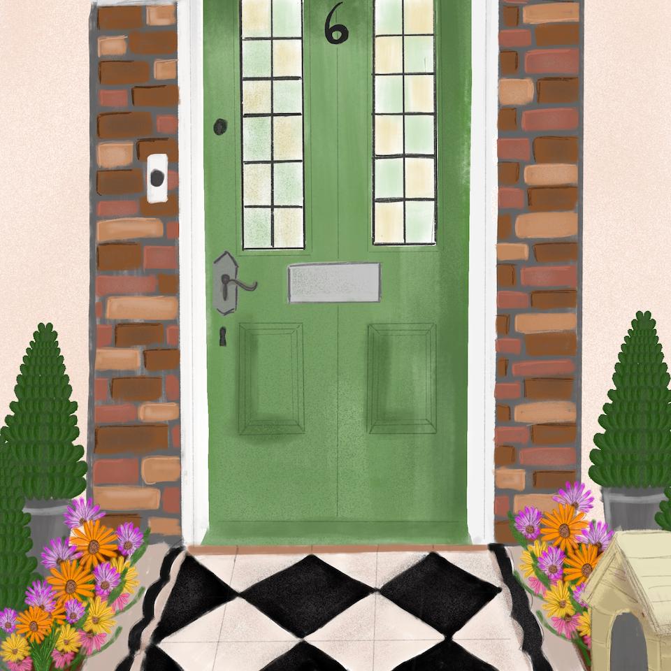 Barratt Homes Virgo door