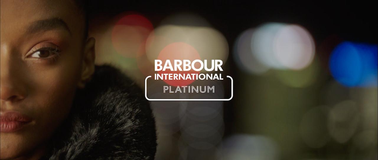 Barbour International SS21 Women's Platinum Pre-Collection -