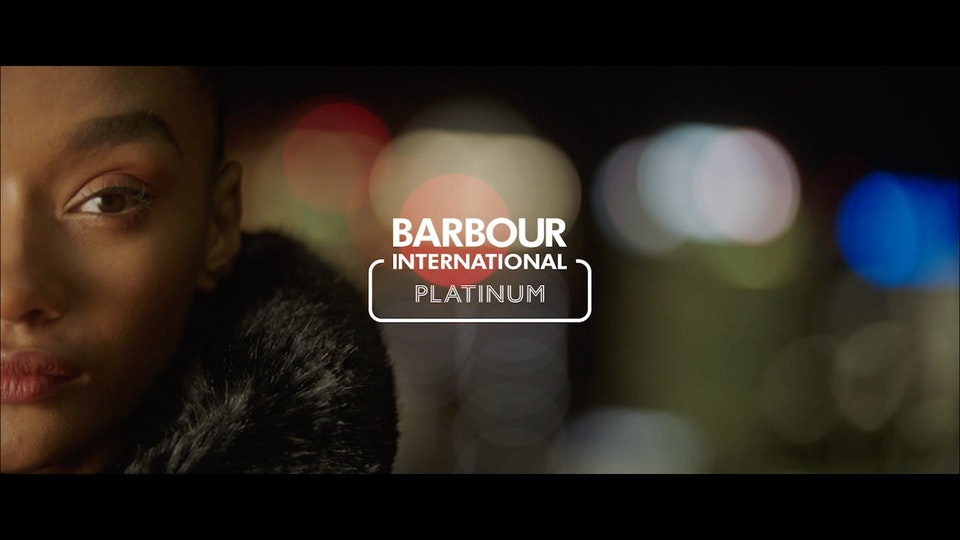 Barbour International SS21 Women's Platinum Pre-Collection