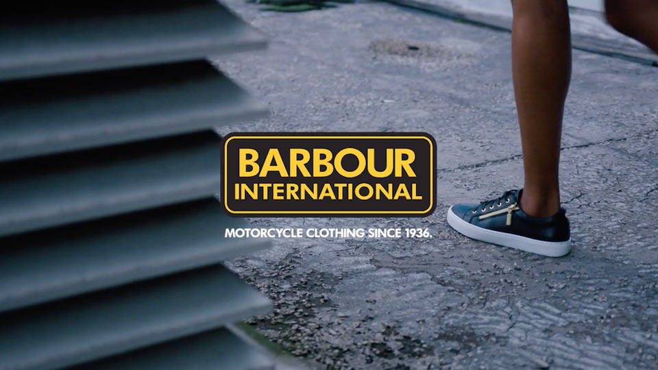 Barbour International AW20 Women's Collection