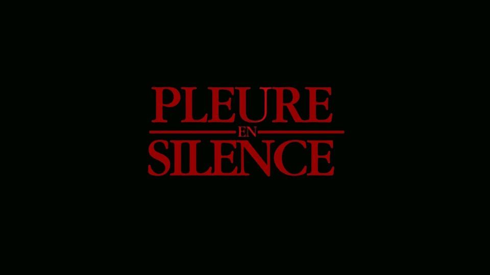 PLEURE EN SILENCE - 8em face