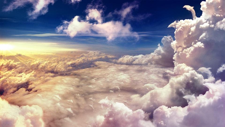 British Airways  - Cloud Dolphins