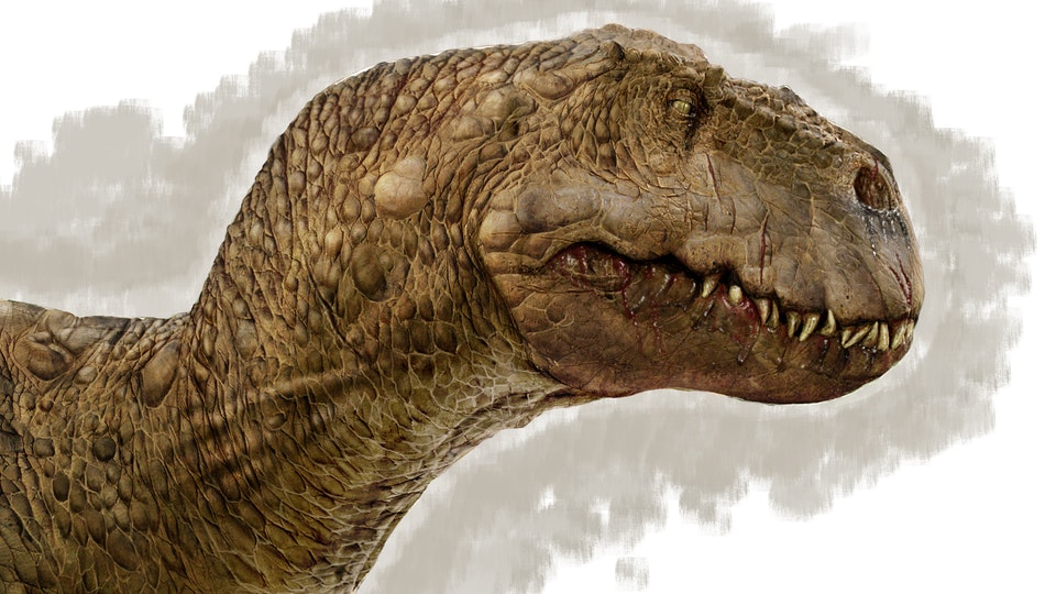 T-Rex skin textures