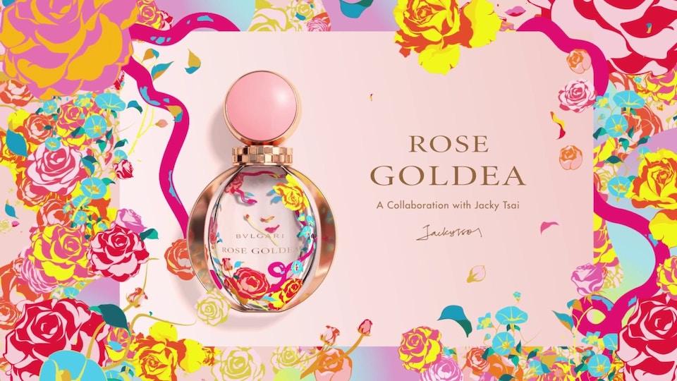 BVLGARI Rose Goldea Limited Edition Jacky Tsai