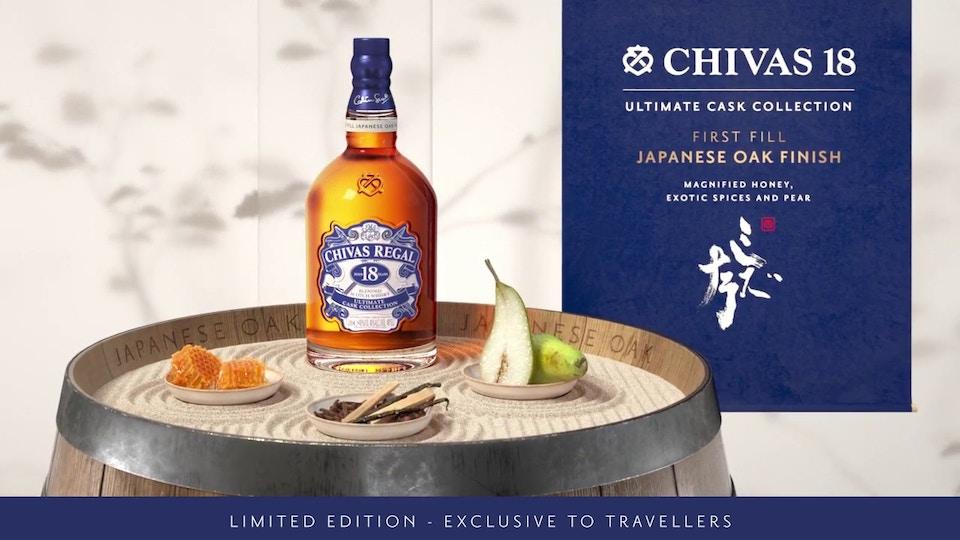 Chivas Regal 18 Japanese Oak