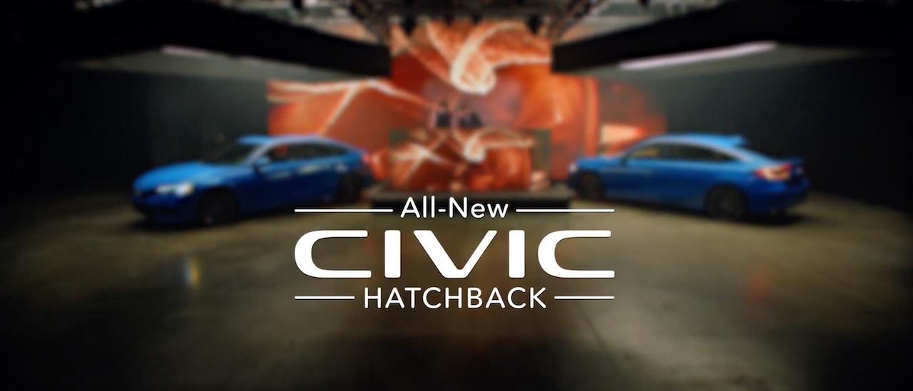 "Honda x Majid Jordan - ""2021 Civic Hatchback Reveal"""