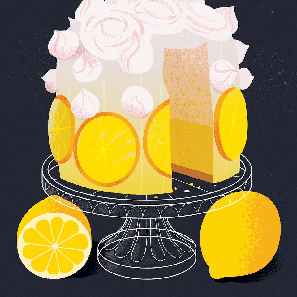 Flavor phantoms lemoncake