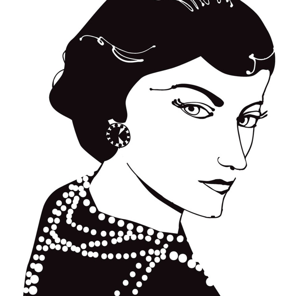 Works on paper Coco Chanel