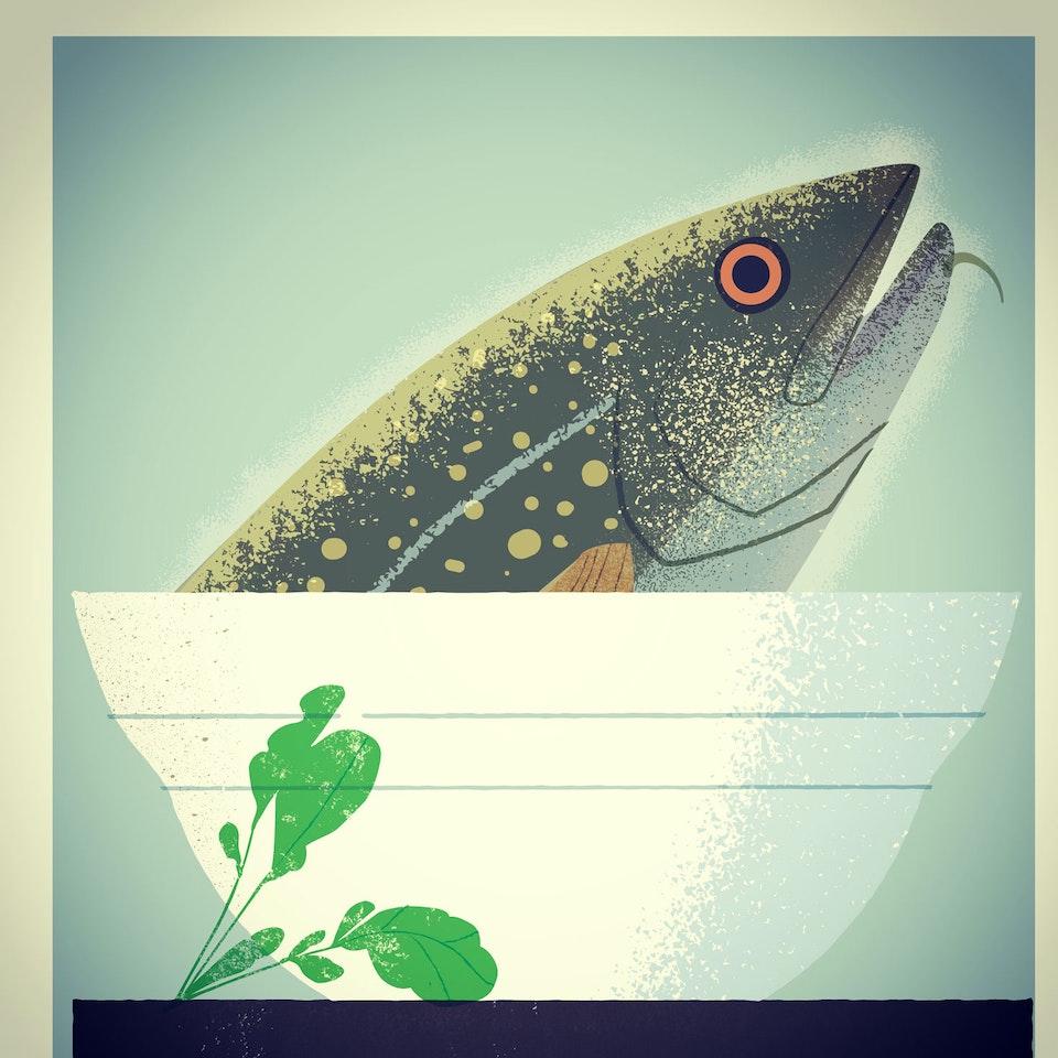 Fish fishhead