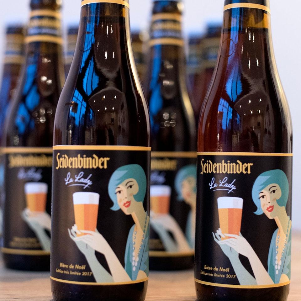 Wines and beers Seidenbinder beer
