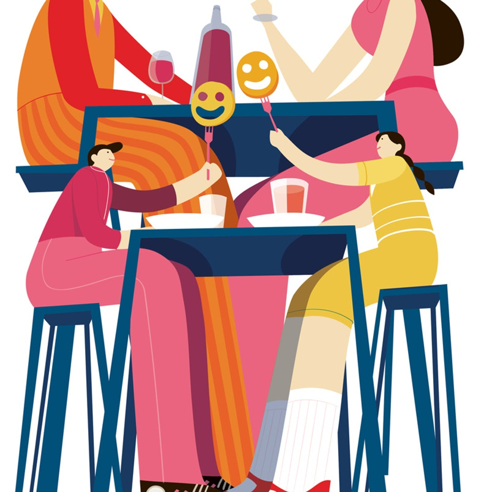 Fooditorial kids table