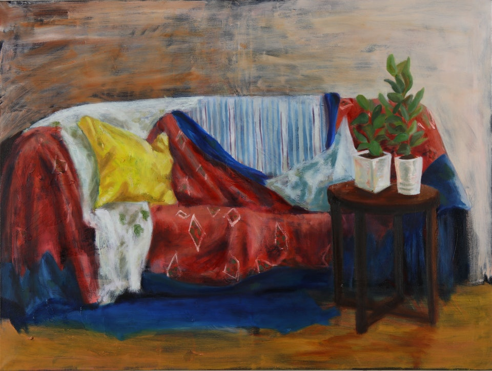 Interiors - The Proposal - 2018 - Oil on Canvas - 92 x 125 cm