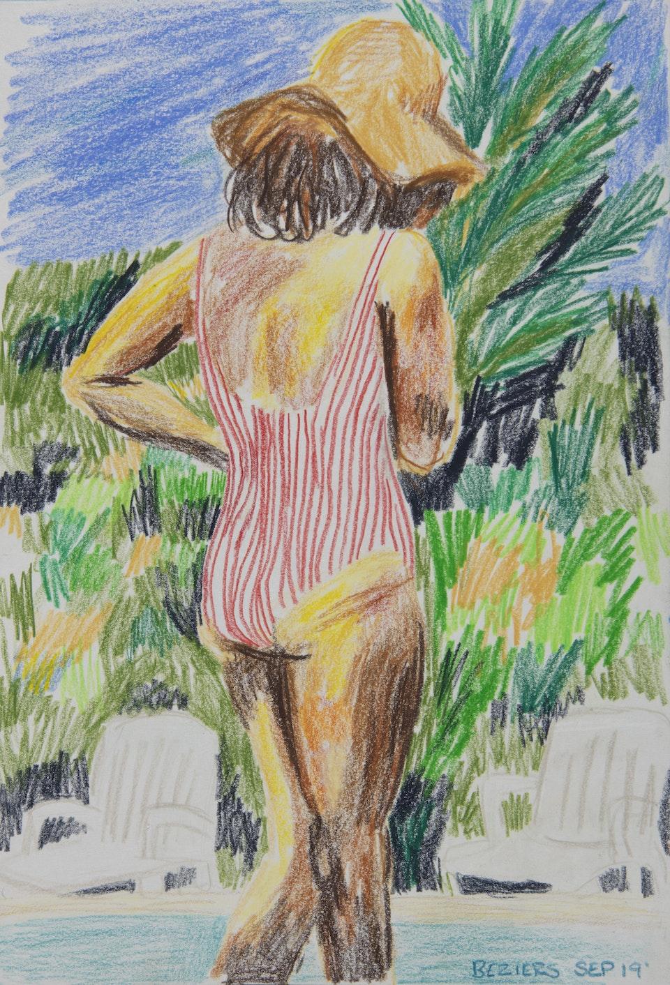 In Situ - Mathilda Beziers - 2019 - Pencil on Paper - 21 x 30 cm