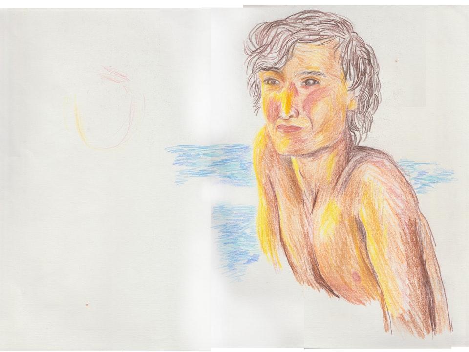 Portraits - Darius - 2020 - Pencil on Paper - 30 x 42 cm A3