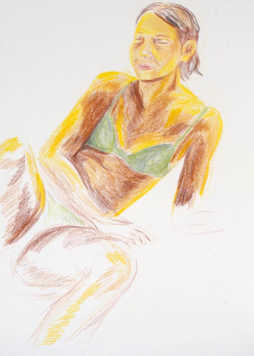 Portraits - Mathilda Young - 2020 - Pencil on Paper - 21 x 29cm A4