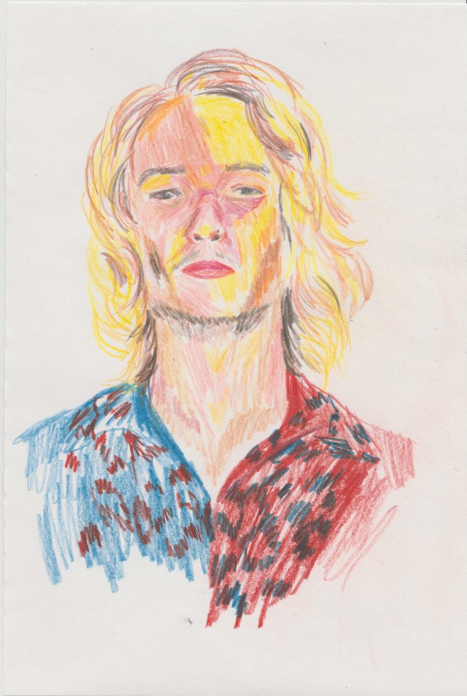 Portraits - Orlando - 2020 - Pencil on Paper - 21 x 29 cm A4