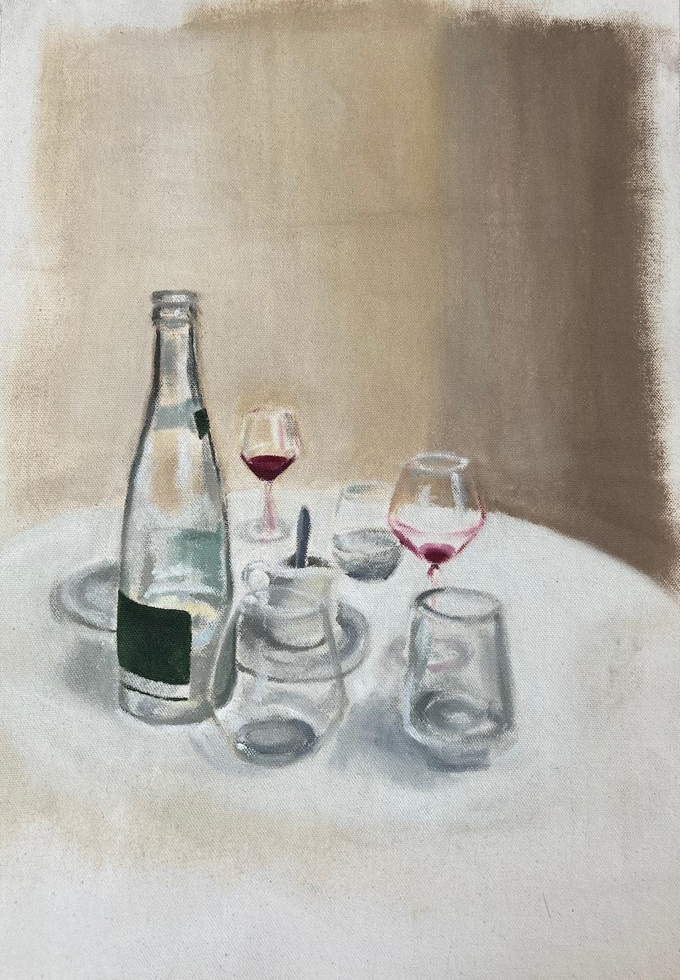 Interiors - Soufflé - 2020 - Oil on Canvas - 30 x 42cm