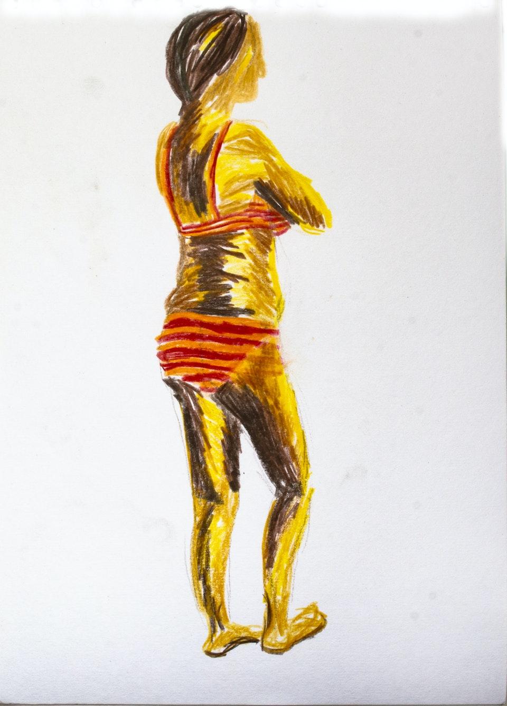 Portraits - Sofia - 2020 - Colour Pencil on Paper - 21 x 30 cm A4