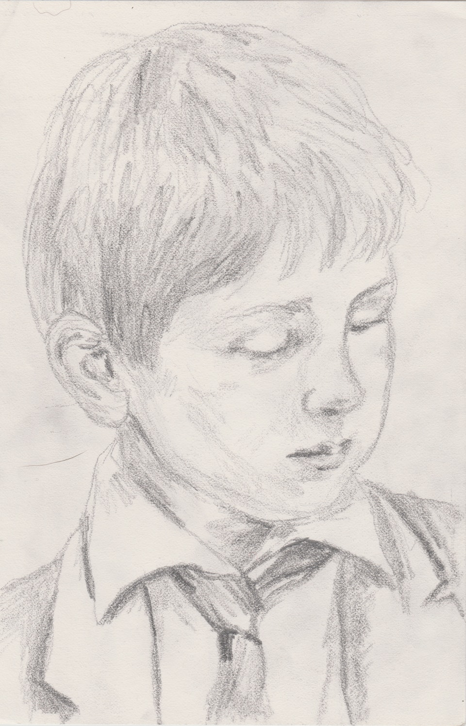 Sketches - Cameron - 2020 - Pencil on Paper - 15 x 21 cm A5