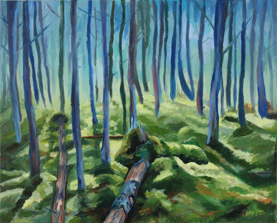 Nature - Scandinavia -  2017 - Oil on Canvas - 42 x 49cm