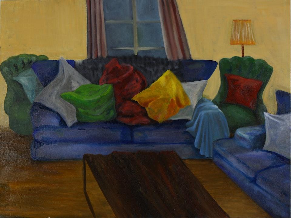Interiors - Kipps County - 2019 - Oil on Canvas - 76 x 101 cm