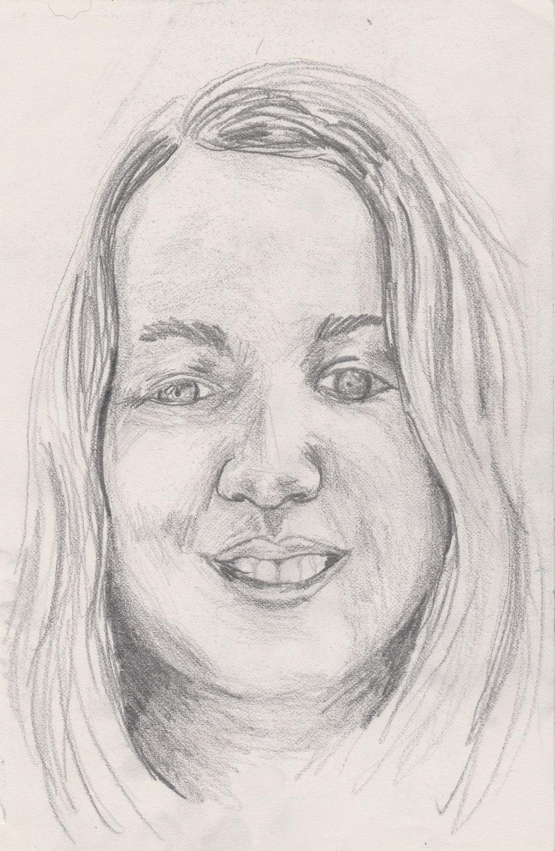 Sketches - Lauren - 2020 - Pencil on Paper - 15 x 21 cm A5