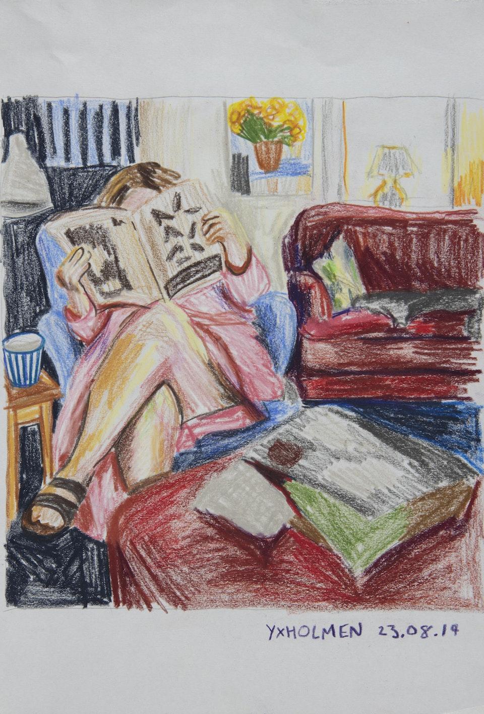 In Situ - Mormor Yxholmen -  2019 - Pencil on Paper - 21 x 30 cm