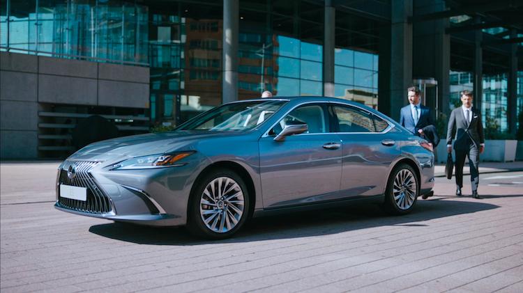 Lexus | The all new ES | 100SEC