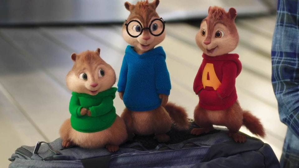 ALVIN AND THE CHIPMUNKS - The road trip - Senior Compositing