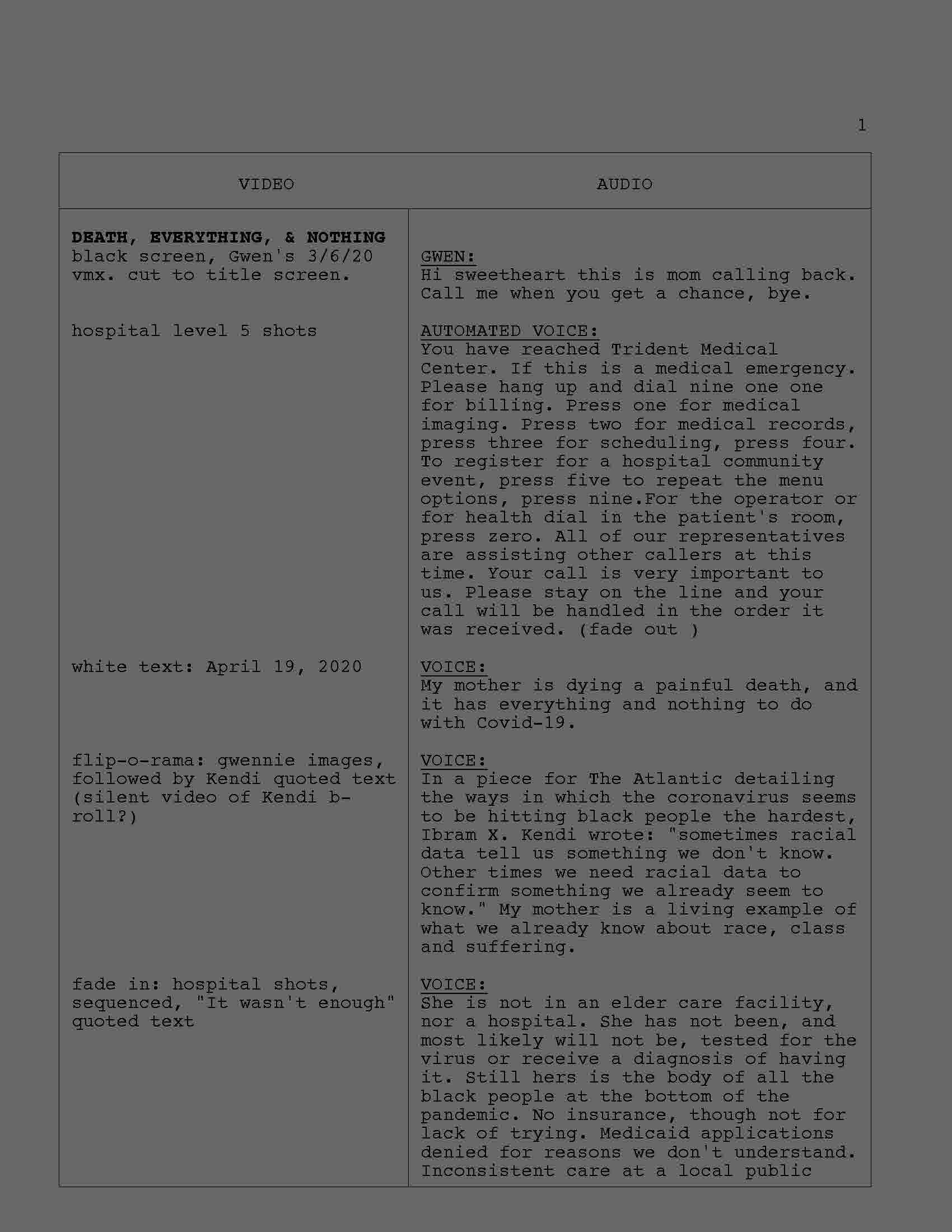 scripts & hybrids
