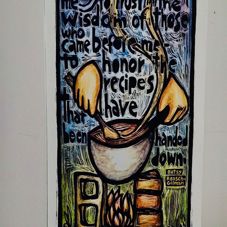 NOURISH - Kitchen Poster copy