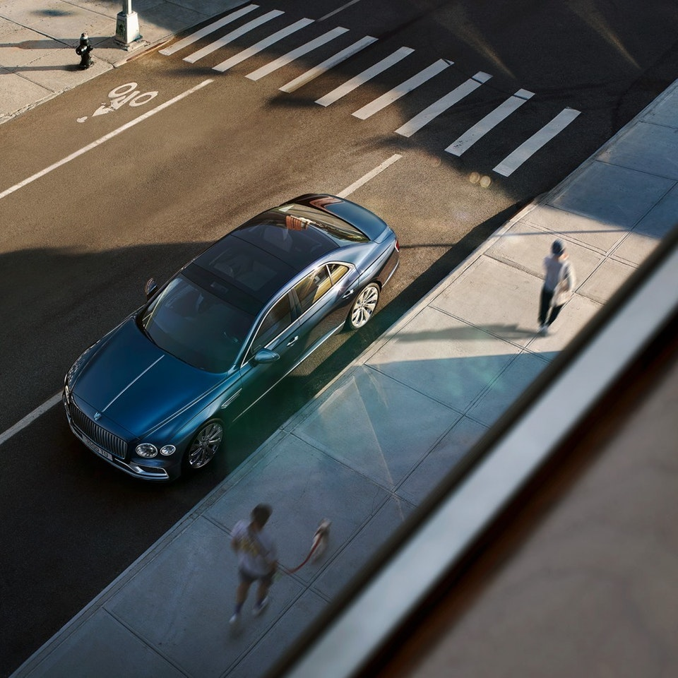 Bentley Motors - The New Flying Spur the-new-bentley-flying-spur-6-by-marc-trautmann