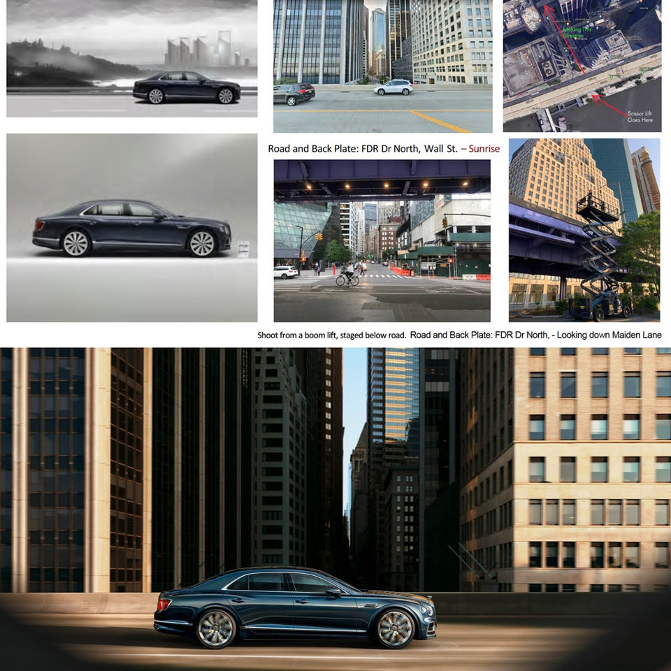 Bentley Motors - The New Flying Spur Comp-Example
