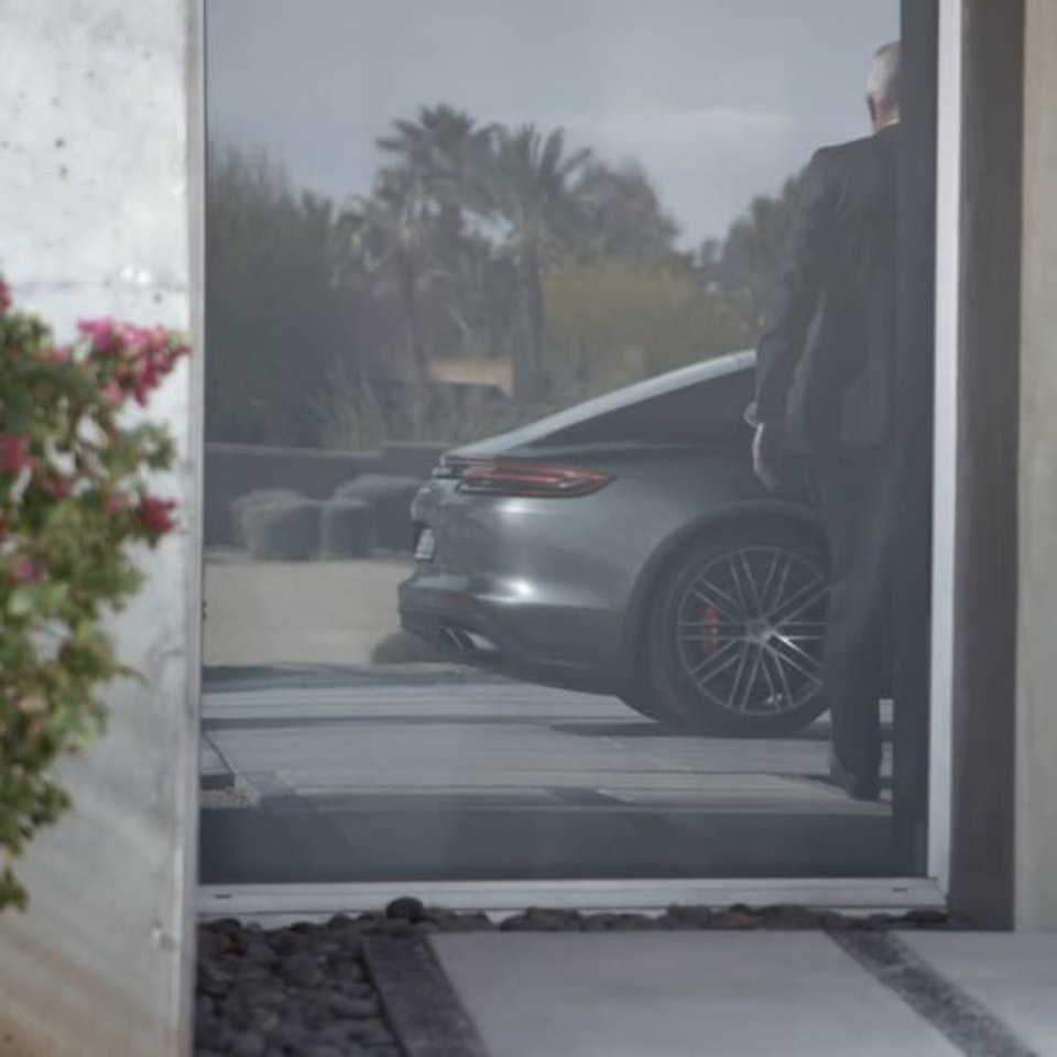 Motion Launch for the new Porsche Panamera Turbo