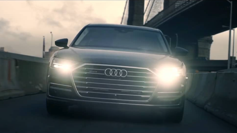 "Hi, I'm Roger - Audi A8 - ""Moving On"""