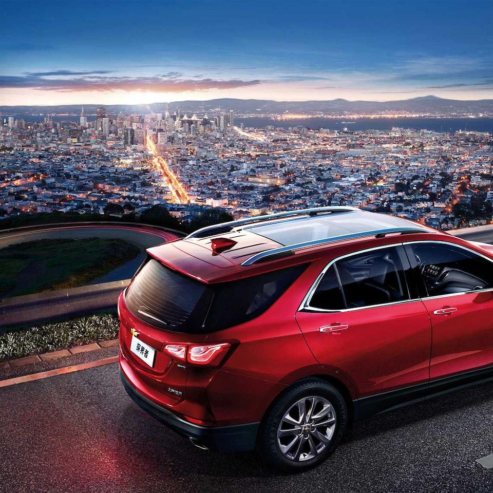 Chevy Equinox Chevrolet-Equinox-SF-Night