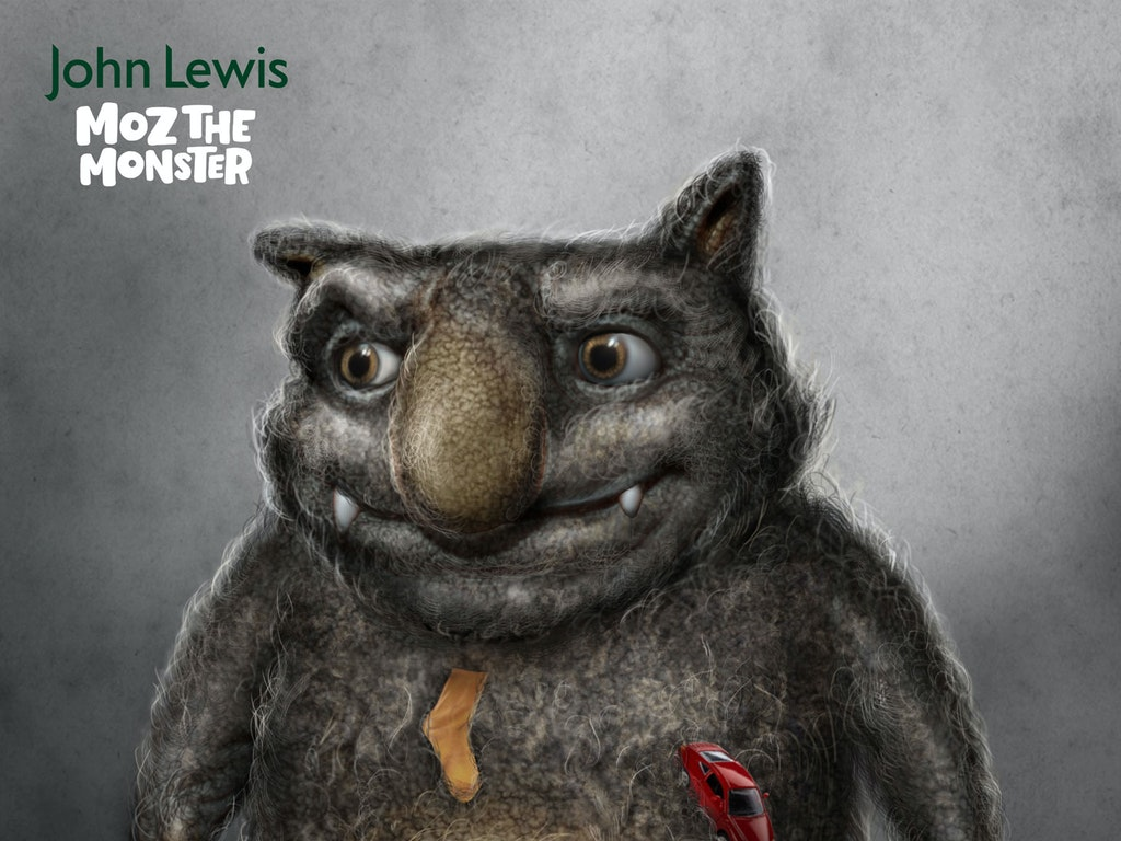 MOZ THE MONSTER - JOHN LEWIS