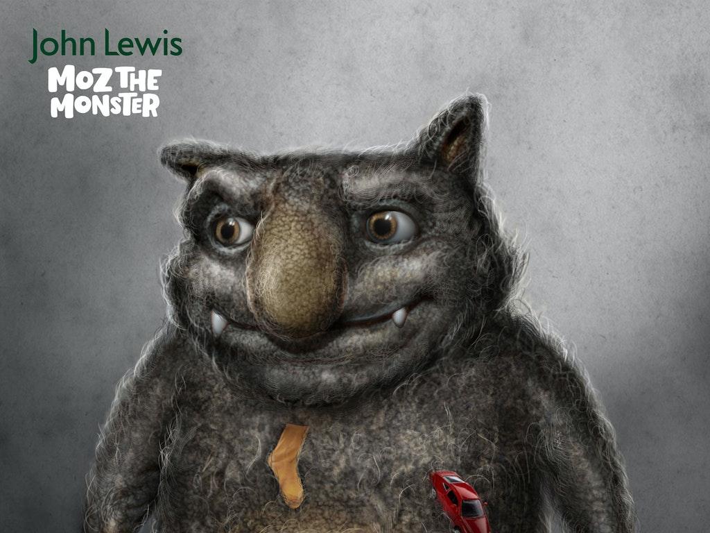 MOZ THE MONSTER - JOHN LEWIS