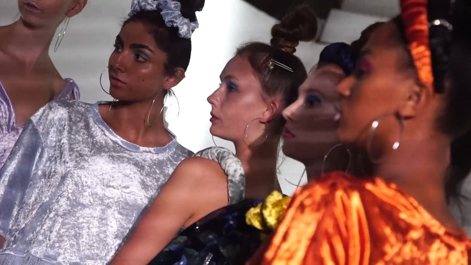 LFW BTS FILM WITH HUNDRED SHOWROOM