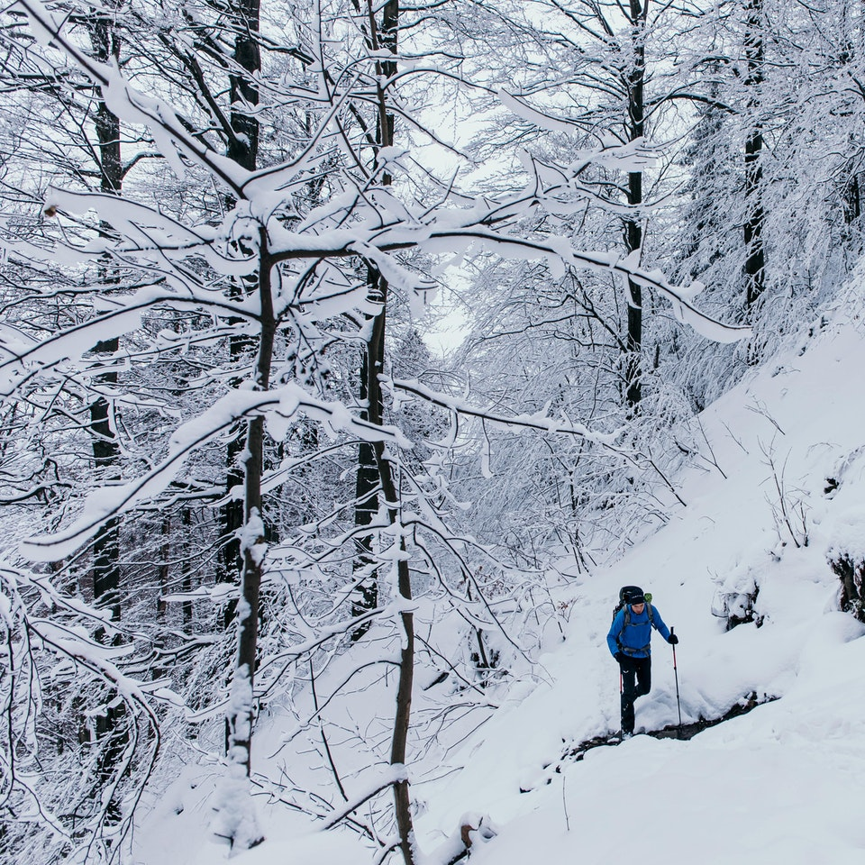 Łukasz Supergan / Winter Crossing of Polish mountains'21 - Beskid Sądecki