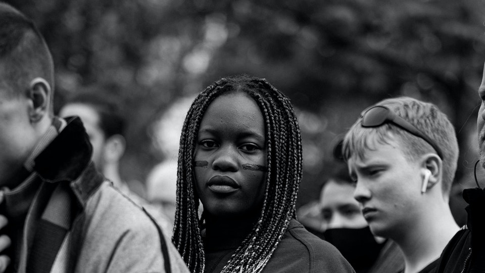 Aleksandra Wierzbowska - Black Lives Matter Reykjavik