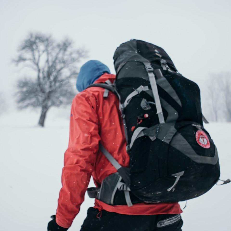 Łukasz Supergan / Winter Crossing of Polish mountains'21 - _M7A0304-min