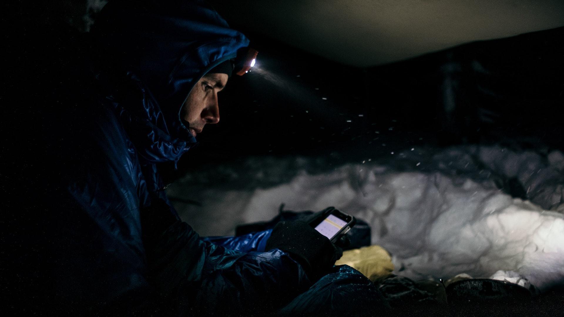 Na końcu nie ma nic: Łukasz Supergan o pierwszym samotnym trawersie Islandii zimą
