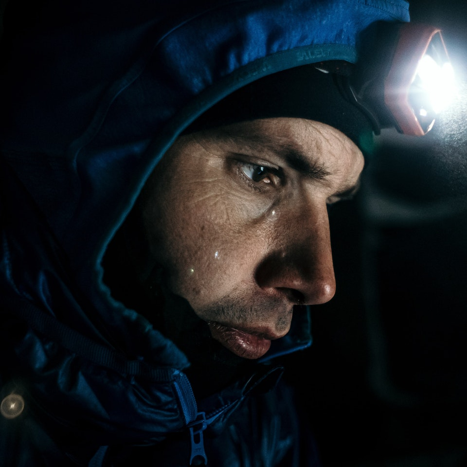 Łukasz Supergan / Winter Crossing of Polish mountains'21 - Night camp