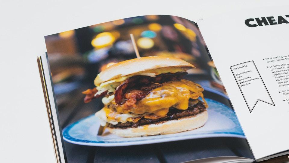 1 Buch über Burger