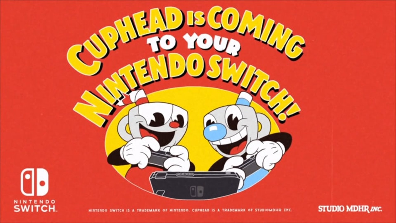 Cuphead - Nintendo Switch Announcement Trailer