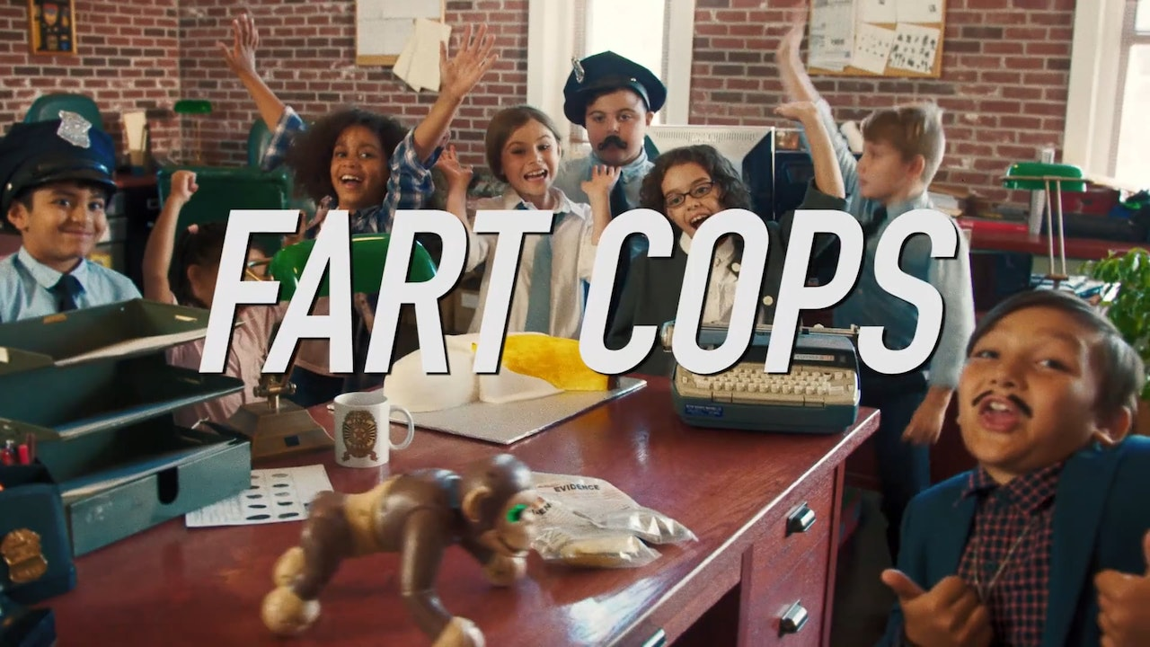 "Spin Master - ""Fart Cops"""