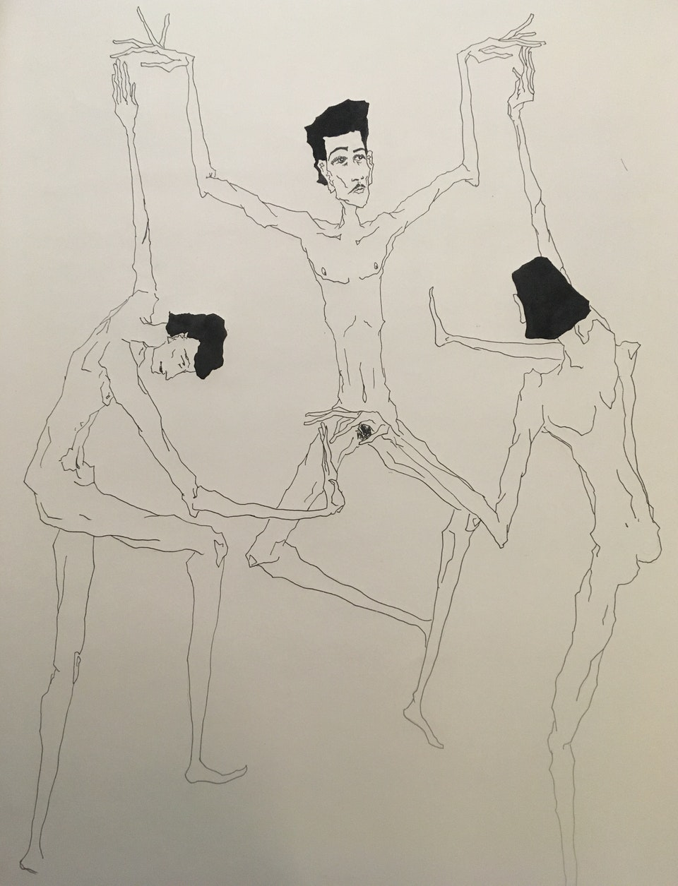 Three Figures Dance -