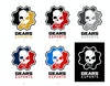 GEARS ESPORTS REBRAND - Process #10. Final color selection.